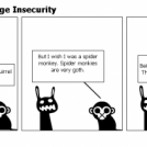 Goth Monkey's Image Insecurity