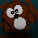 Accidental owl 'suicide'
