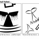Fish tail failed...