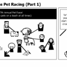 Violent Norman goes Pet Racing (Part 1)