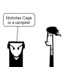 Nicholas Cage is a vampire