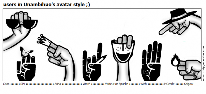users in Unambihuo's avatar style ;)