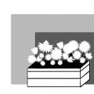 Cajón de flores.