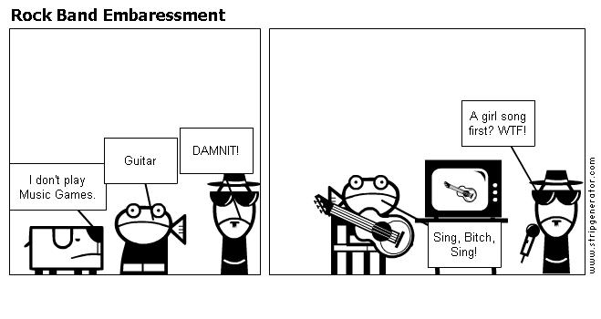 Rock Band Embaressment