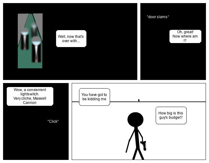 Grey Lightning Episode 2: The Escape