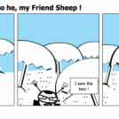 Where we are is also he, my Friend Sheep !