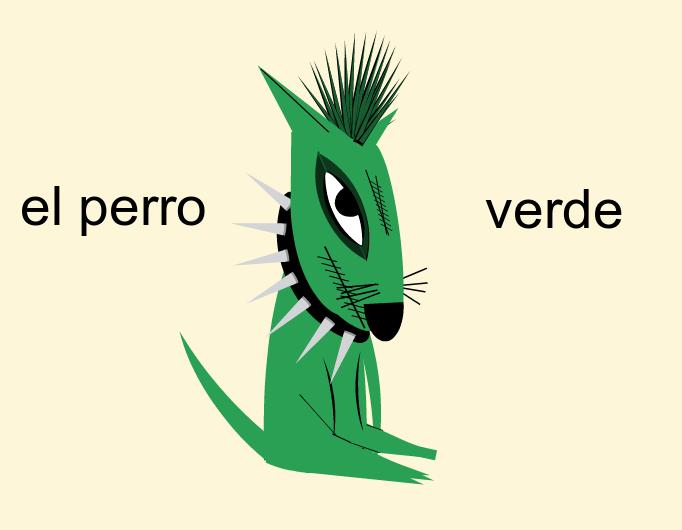 El perro verde (She told me to do it)