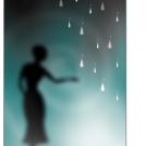 Woman in rain?