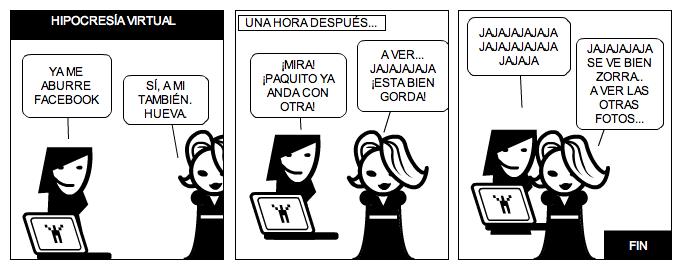 HIPOCRESÍA VIRTUAL