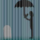 Lone Mourner