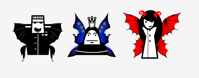 The three fairies: The General,King and Devil