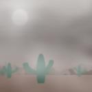 Windy desert