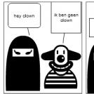 De liegende ninja