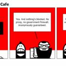 Expensive Internet Cafe