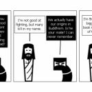 Jesus v Ninja