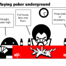 Beaudel - Playing poker underground