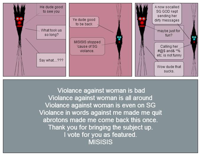 Dudes against violance