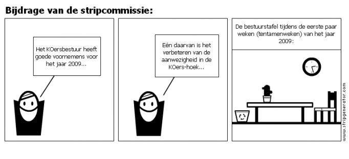 Bijdrage van de stripcommissie: