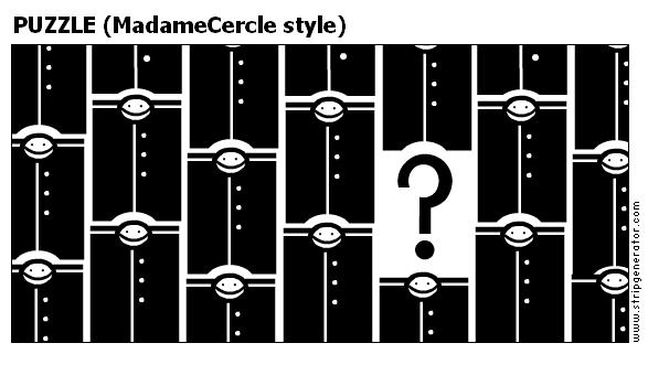 PUZZLE (MadameCercle style)