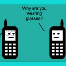 Cell phone joke
