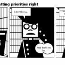 Bill the Klingon - Getting priorities right