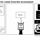 The Government man He comes from the Government