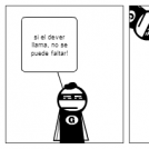 Un superheroe medio miedoso!