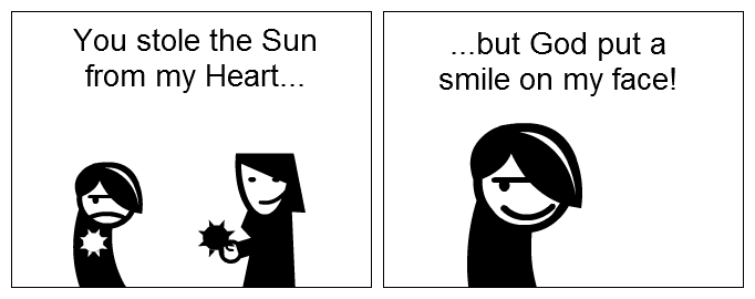 No Sun, but a Smile