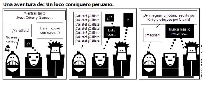 Una aventura de: Un loco comiquero peruano.