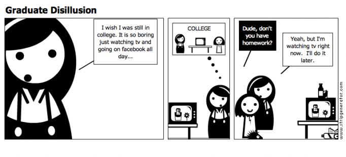 Graduate Disillusion