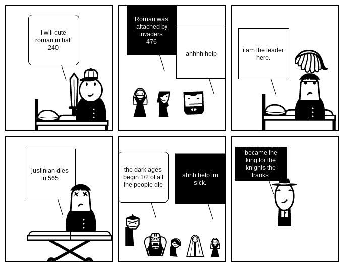 Roman empier to fedulisum comic strip