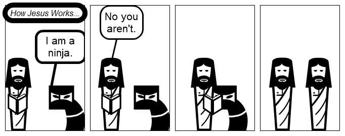 How Jesus Works...