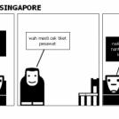 NAIK PESAWAT KE SINGAPORE