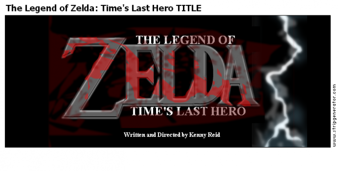 The Legend of Zelda: Time's Last Hero TITLE