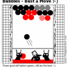 Bubbles - Bust a Move :-)