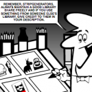StripGenerator Etiquette #1