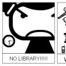 NO LIBRARY