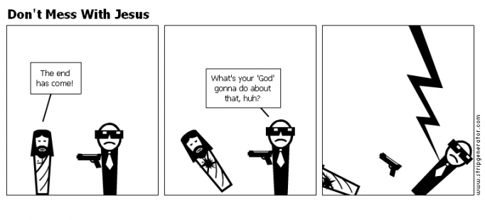 Don't Mess With Jesus