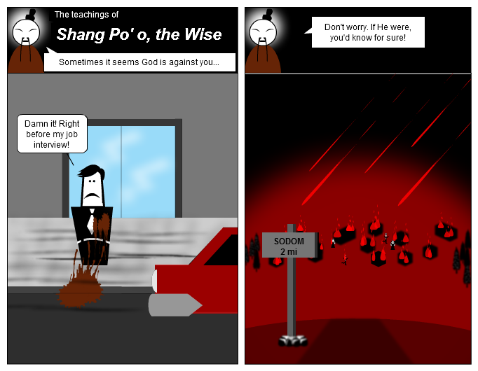 Shang Po'o, the Wise, on God's Wrath