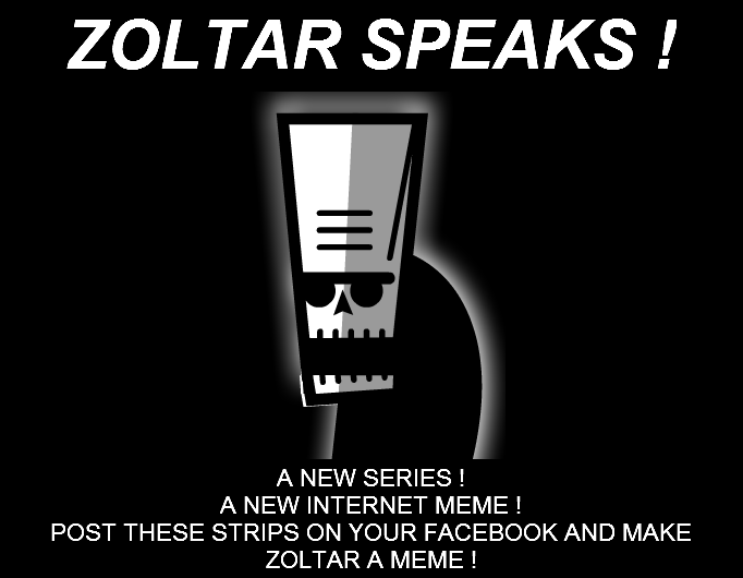 ZOLTAR SPEAKS ! - Booklet Cover