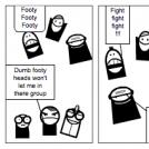 footy head fight