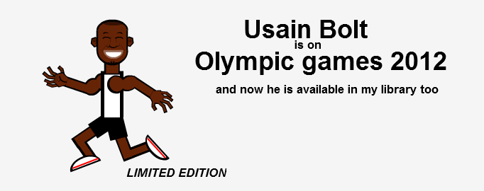 Usain is shared