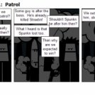 Paying Up Act 3 Part 1:  Patrol