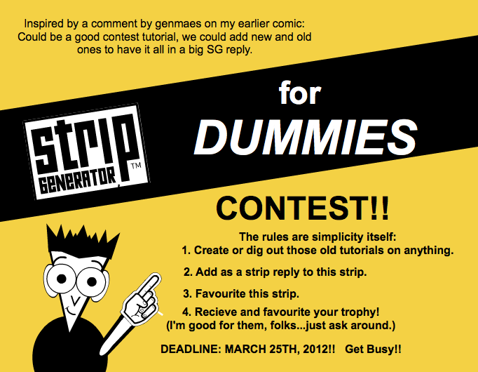 SG for DUMMIES Contest!