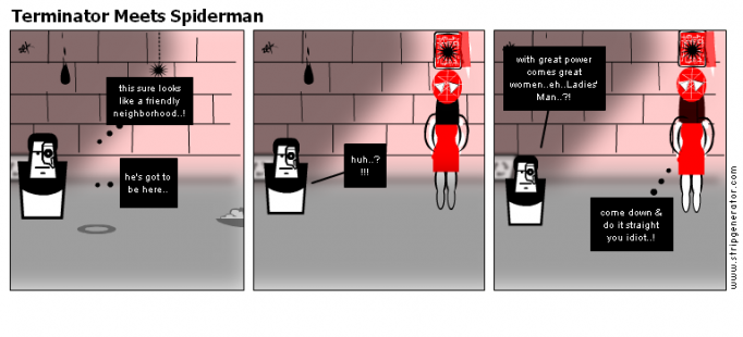 Terminator Meets Spiderman