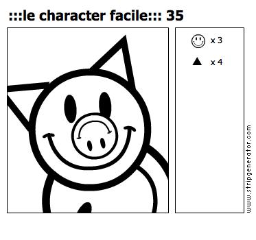 :::le character facile::: 35