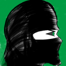 Green Eyed Ninja Sketch - Detective