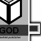 GOD booklet badge