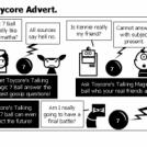 El Comic # 162 - Toycore Advert.