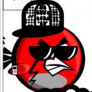 angry bird make over